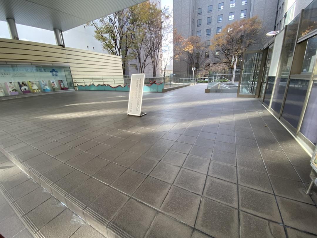 京都市中京区 I学園 エントランス床防水工事のサムネイル