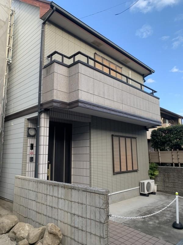 大阪府貝塚市 N邸 軒天井塗装工事
