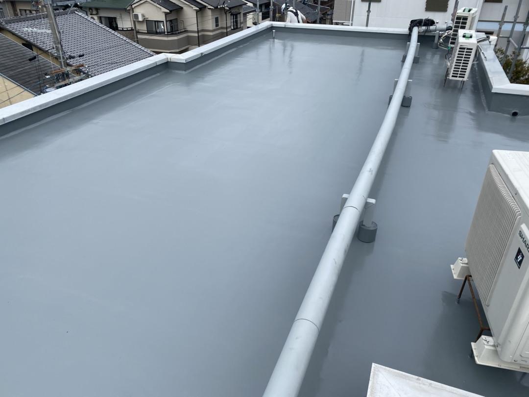 京都市上京区 Cマンション 屋上防水工事のサムネイル
