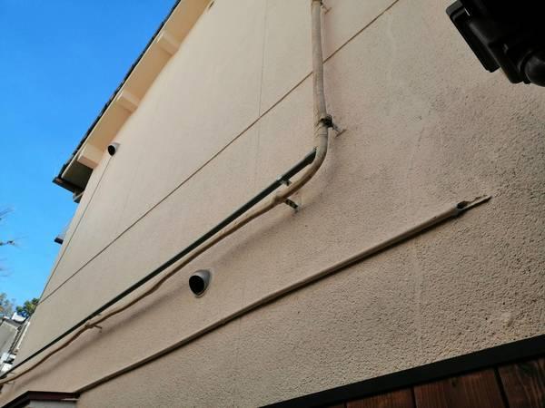 京都市中京区 Aコーヒー 外壁防水塗装工事