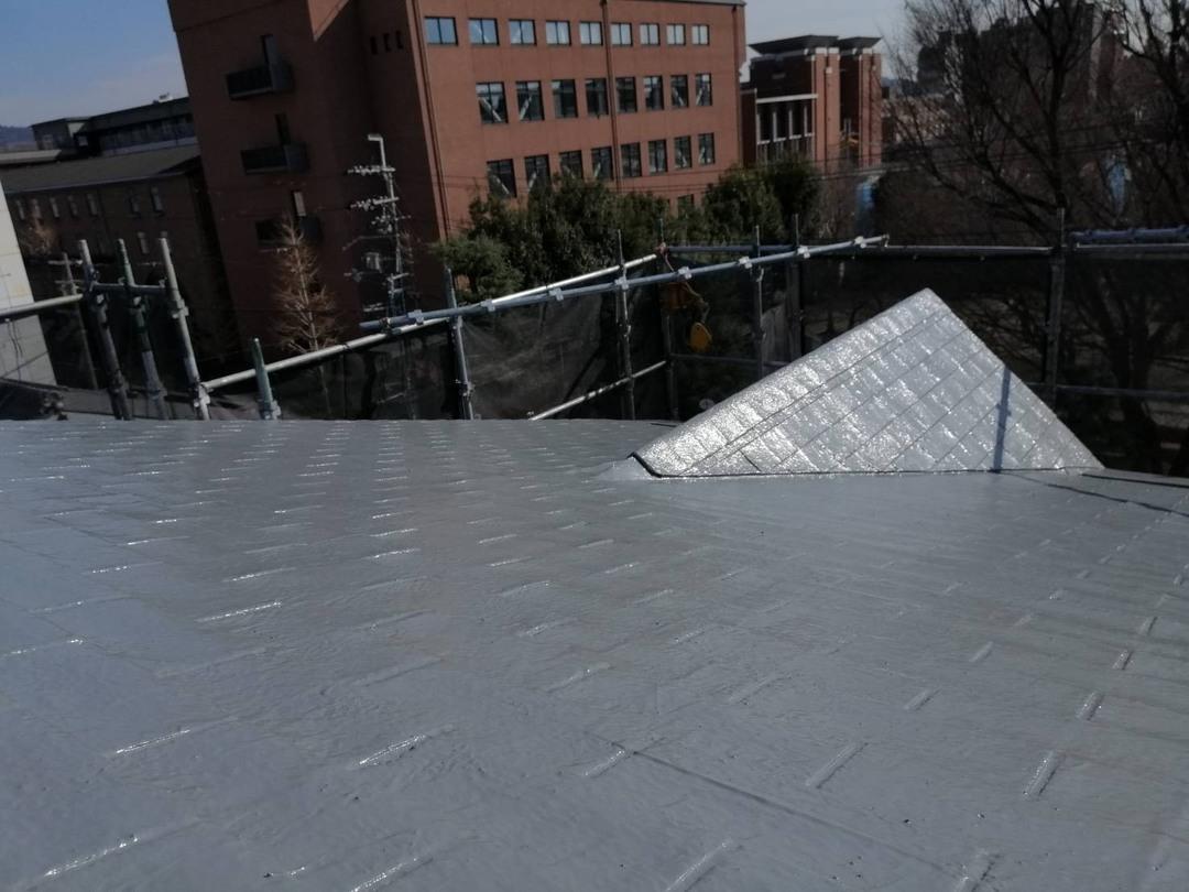 京都市上京区 Cマンション シングル屋根防水工事のサムネイル