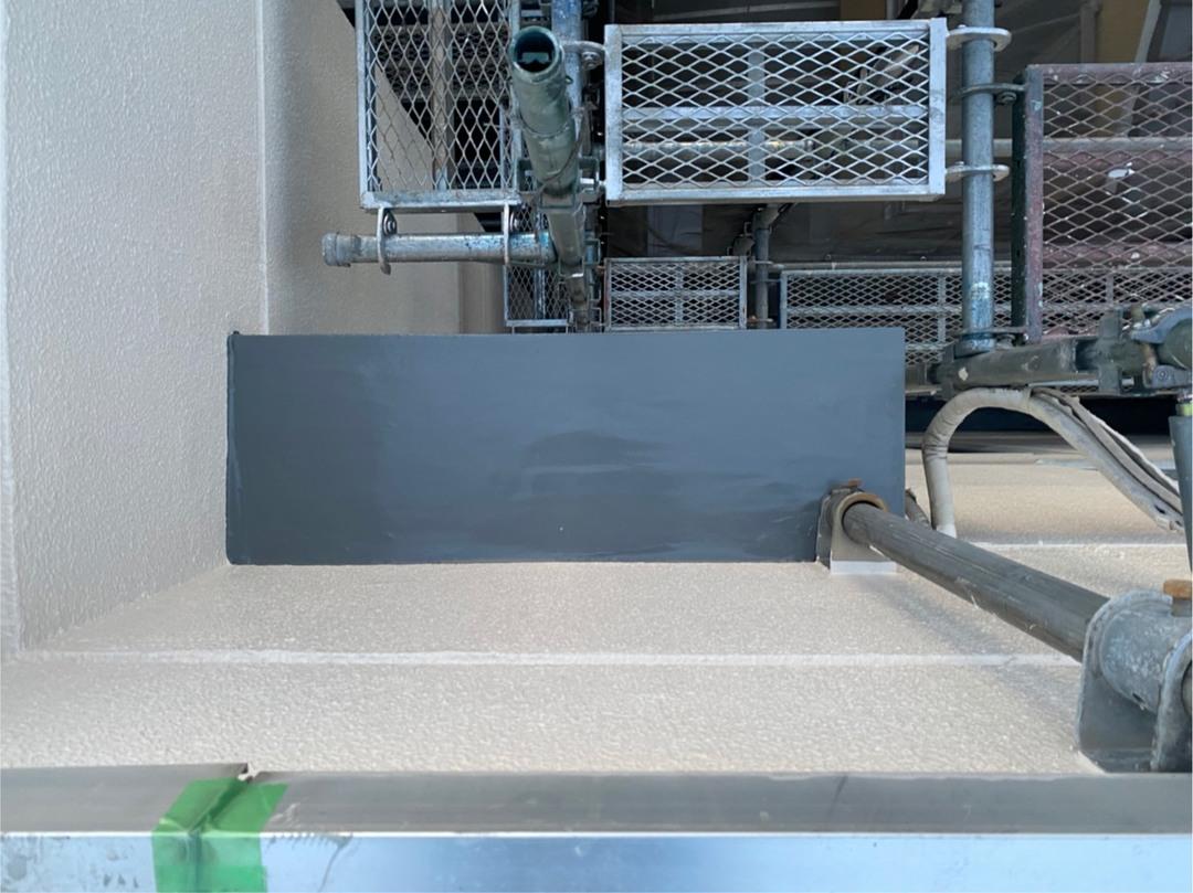 京都市上京区 Cマンション 庇防水工事のサムネイル