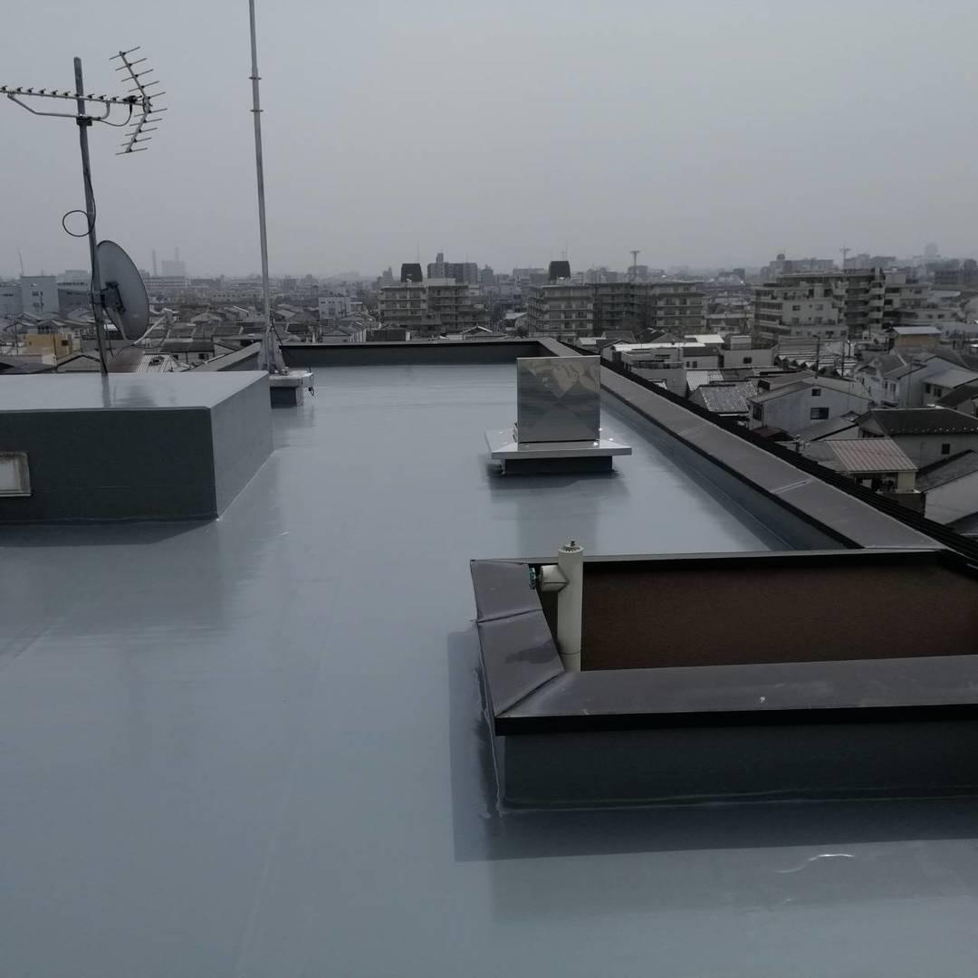 京都市下京区 Gマンション 屋上防水工事のサムネイル
