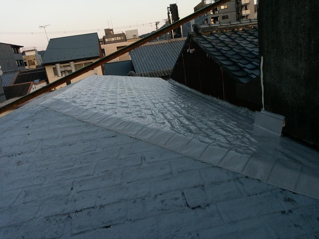 京都市上京区 Ⅿ邸 屋根防水改修工事のサムネイル
