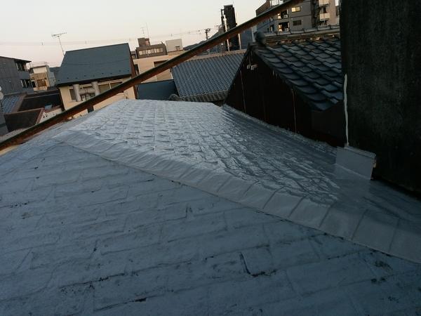 京都市上京区 Ⅿ邸 屋根防水改修工事