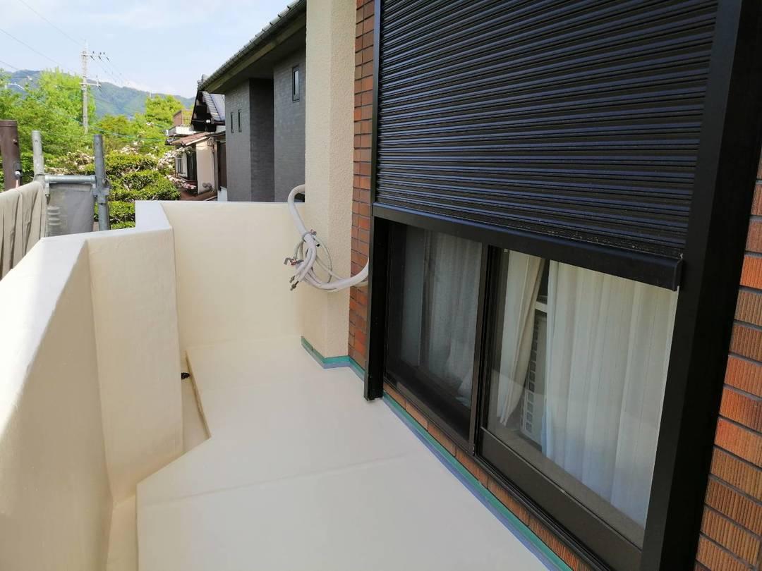 京都市左京区 K邸 バルコニー防水改修工事のサムネイル