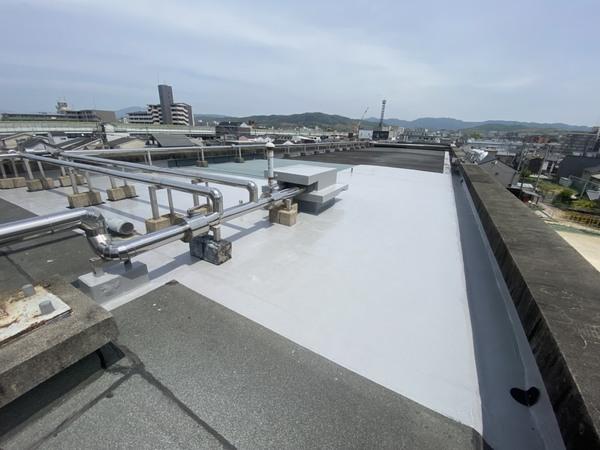 京都市伏見区 竹田小学校 北校舎屋上防水修繕工事