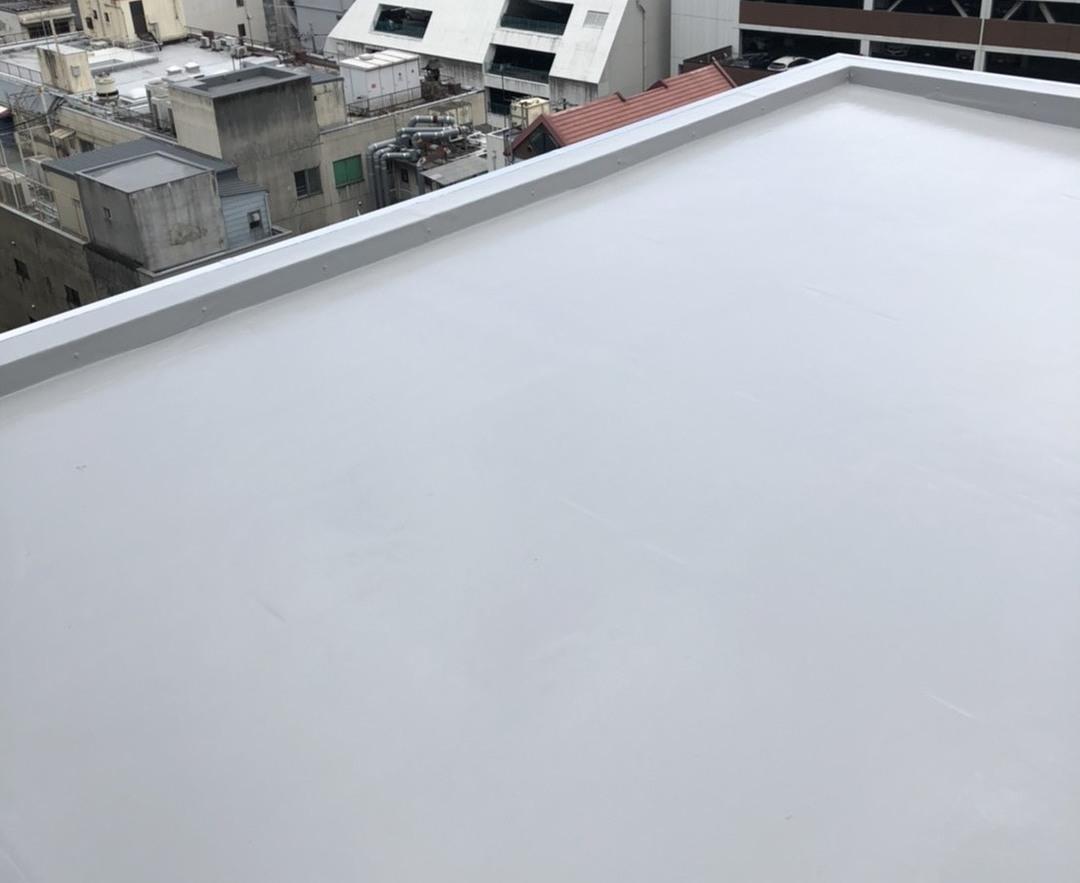 京都市中京区 Fビル 立体駐車場防水工事のサムネイル