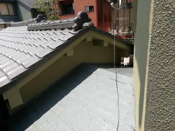 京都市左京区 K邸 屋上防水、外壁塗装工事