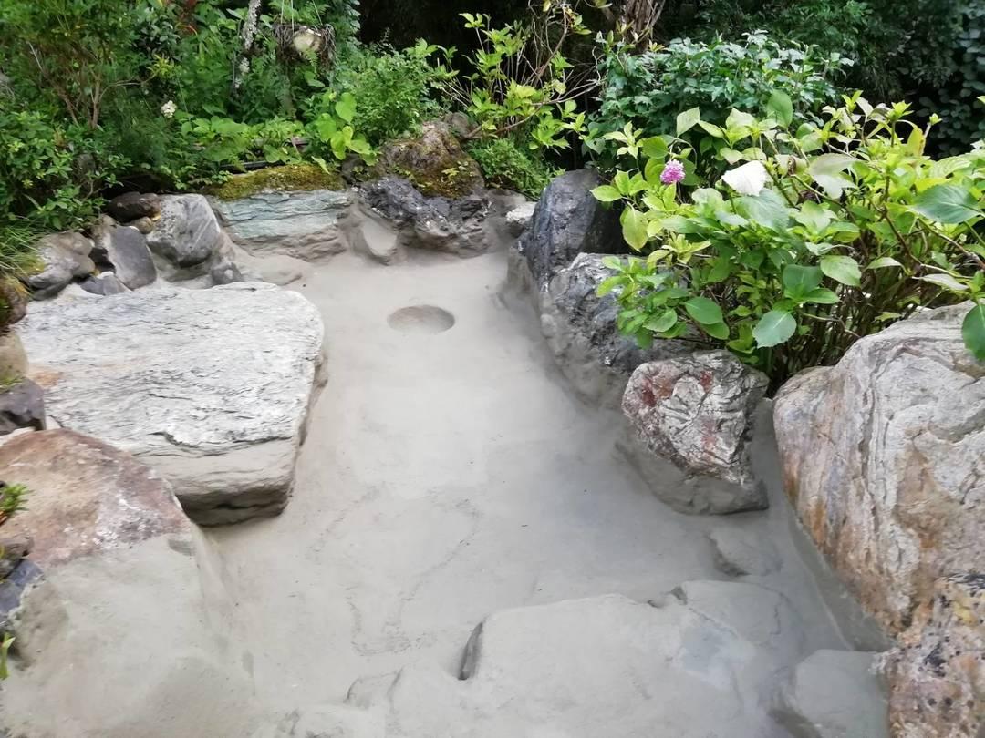京都市山科区 水車小屋、池の防水工事のサムネイル