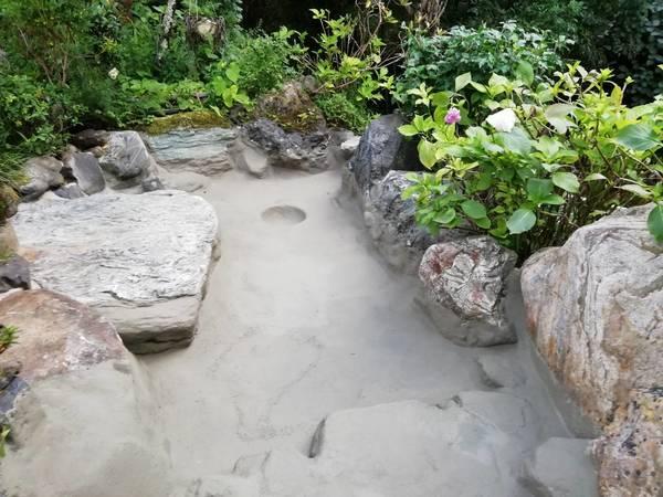 京都市山科区 水車小屋、池の防水工事