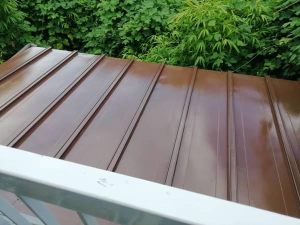 京都市中京区 K邸 屋根防水塗装工事