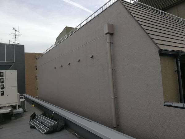 京都市中京区 O美術館 外壁防水塗装工事