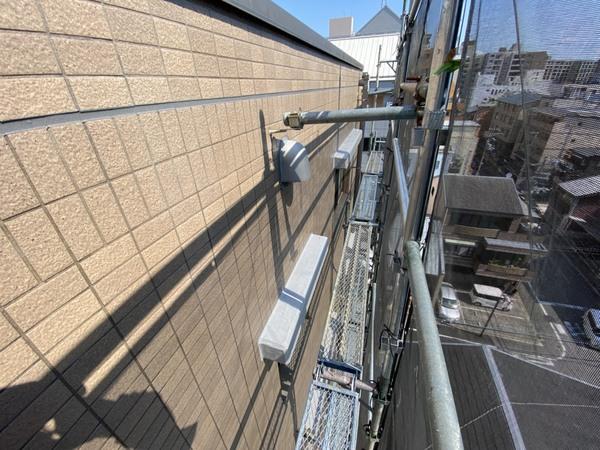 京都市中京区 Oビル 5階~7階外壁防水塗装工事