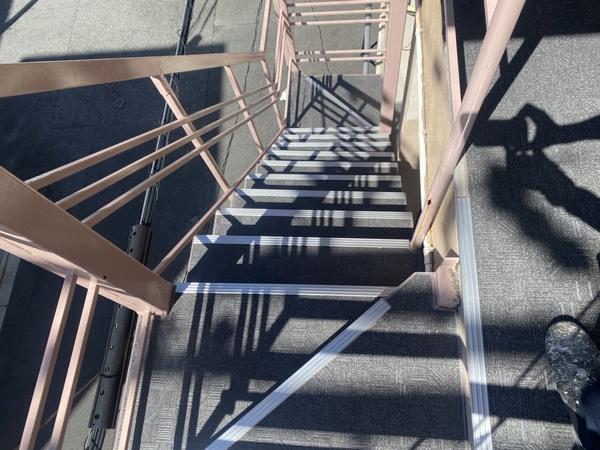 京都市左京区 M荘 階段滑り止め長尺シート工事